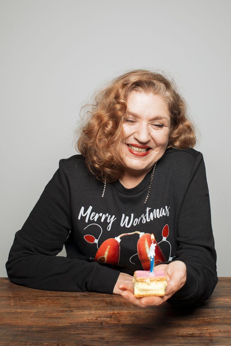 Yolanda Schönberger, kok en taartenmaker. Beeld Manon van der Zwaal