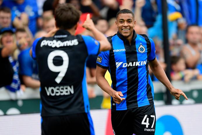Arnaut Groeneveld maakt indruk bij Club Brugge. Bij zijn competitiedebuut tegen Eupen was hij goed voor een assist.