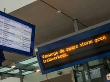 Treinverkeer komt langzaam weer op gang, ook morgen nog overlast verwacht