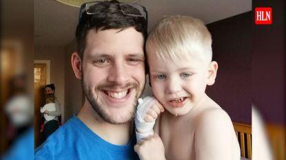 De bijzondere glimlach van peuter Jack (3) verraadt dat hij een hersentumor heeft