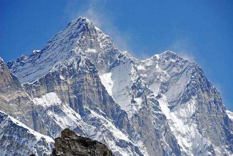 De westkant van de berg Lhotse.