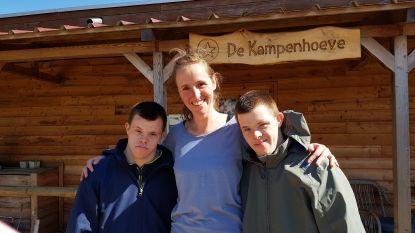 Monia Vereecken (35) wint jaarlijkse Prijs voor hippotherapie.