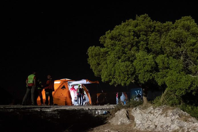 Les secouristes avaient retrouvé des traces de sang au bord de l'un des sentiers et des analyses étaient en cours pour déterminer si c'est celui de Gautier.