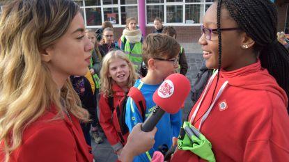 Zottegem is eerste Rode Neuzen-stad van Vlaanderen: posters, vlaggen en ludieke actie in het centrum