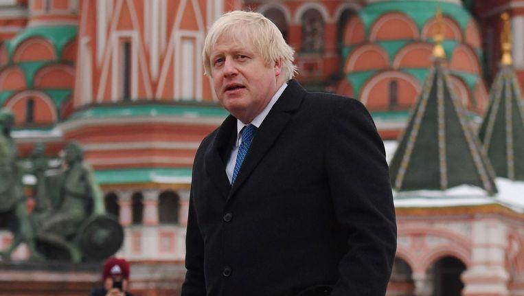 Voor Boris Johnson was 2017 in meerdere opzichten een bewogen jaar. Beeld afp
