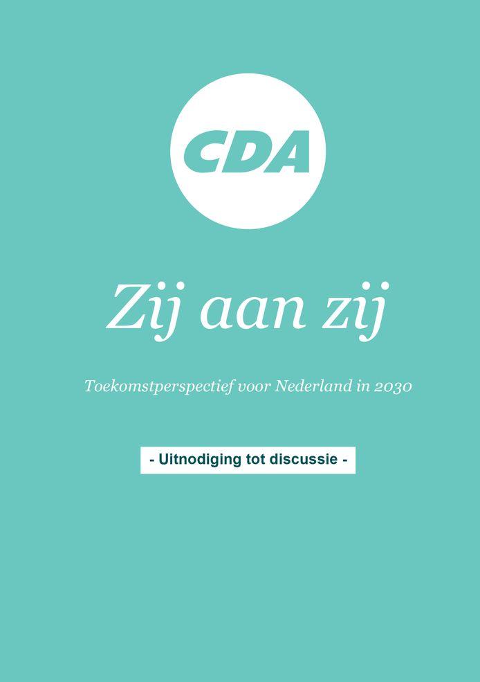 Het Wetenschappelijk Instituut van het CDA formuleerde een toekomstvisie: 'Zij aan zij'.
