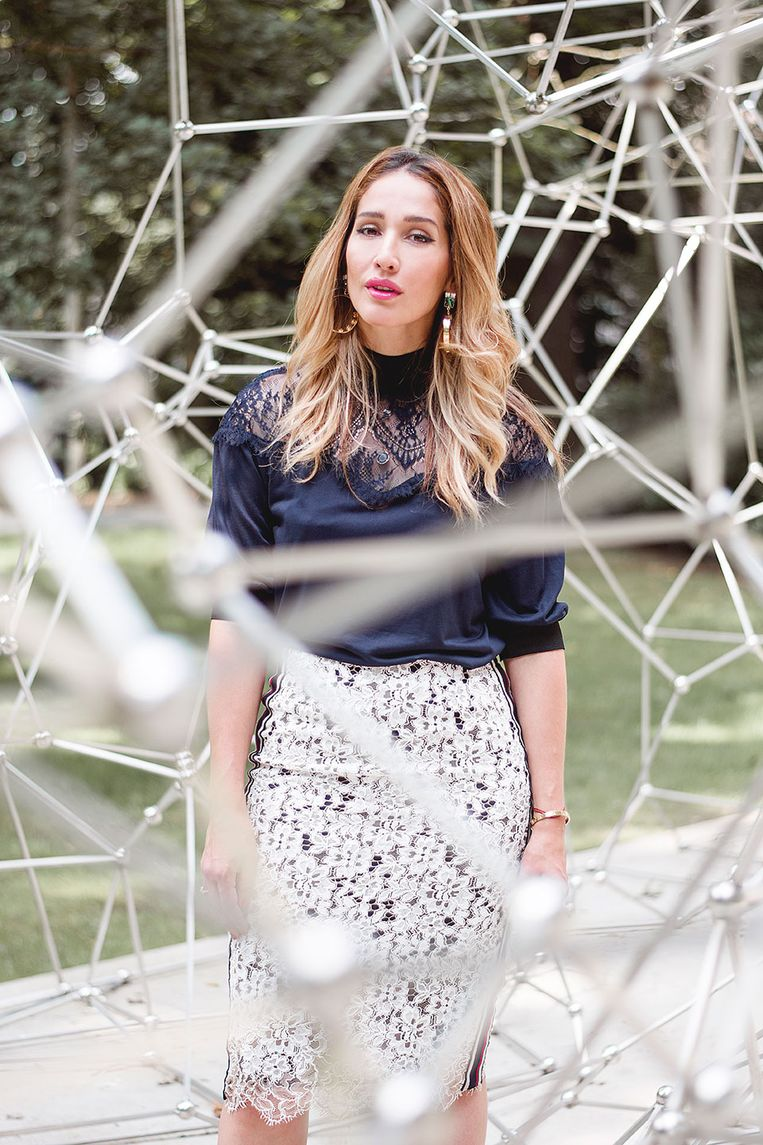 Tiany Kiriloff is het gezicht van de eerste Week van de Belgische Mode.