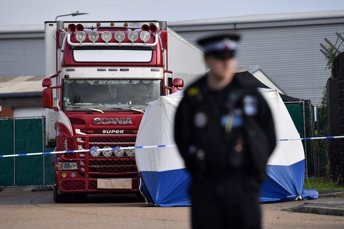 De 39 doden die in de vrachtwagen werden gevonden, waren allen afkomstig uit Vietnam.
