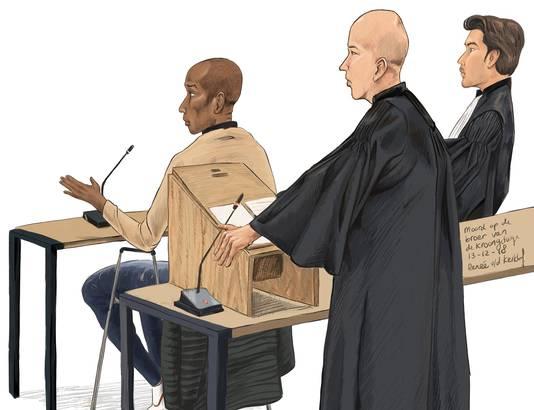 Shurandy S. heeft bij de rechtbank in Amsterdam een bekennende verklaring afgelegd.