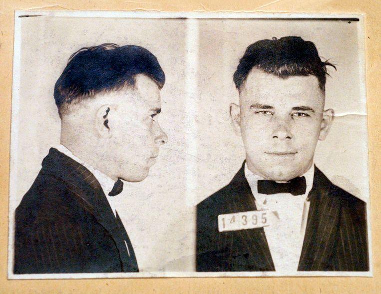 John Dillinger toen hij 21 was. Hij zou maar 31 worden.