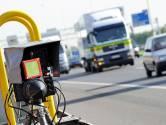 Vier snelheidsovertreders betrapt in Moerdijk