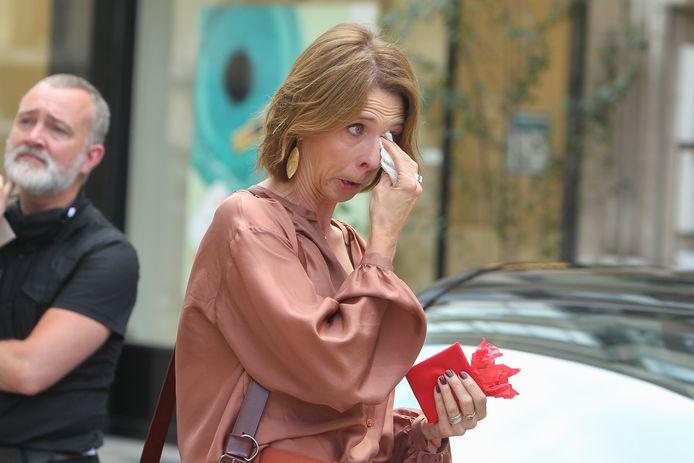 Ook Francesca Van Thielen brak in tranen uit.