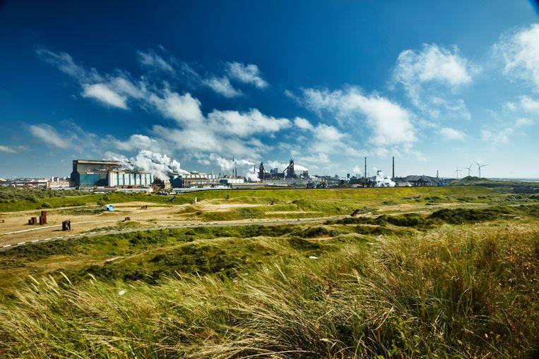 Tata Steel, IJmuiden. Beeld John de Koning