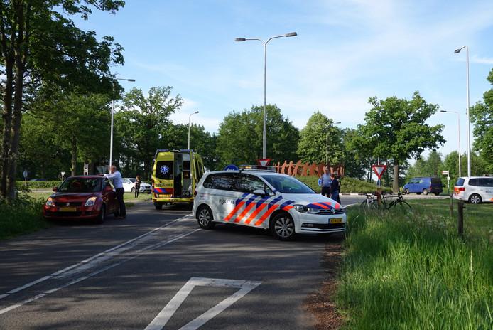 Op de rotonde N224 Arnhemseweg met de Emminkhuizerlaan is donderdagmiddag rond 18:00 uur een ernstige aanrijding geweest.