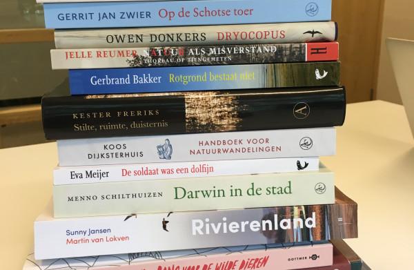 **Opvallend veel literair werk onder nominaties Jan Wolkers Prijs 2018**