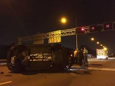 Een persoon gewond bij ongeluk op de A29 bij de Heinenoordtunnel