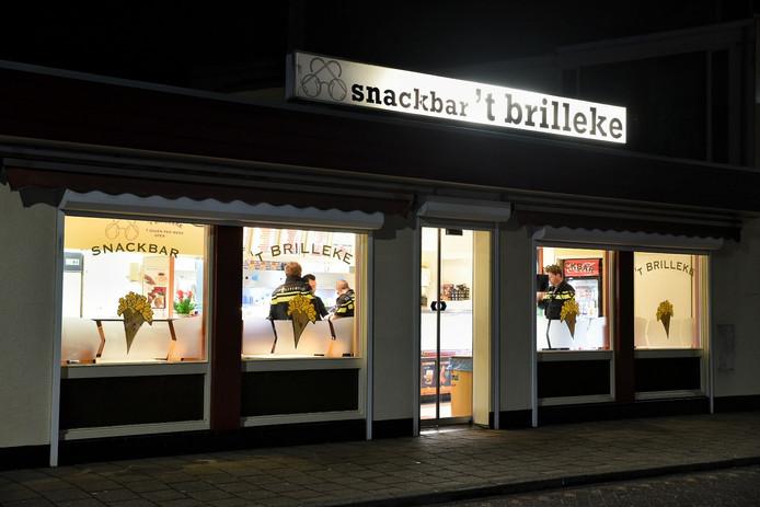 Snackbarpersoneel in Goirle werd bedreigd bij een poging tot overval.