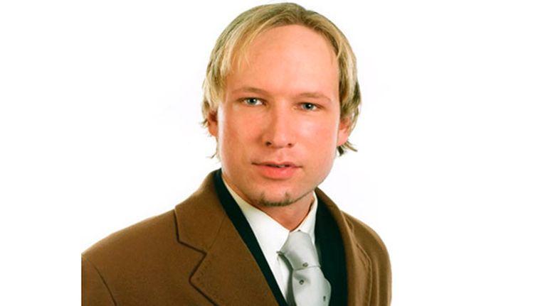 Anders Behring Breivik. Beeld null