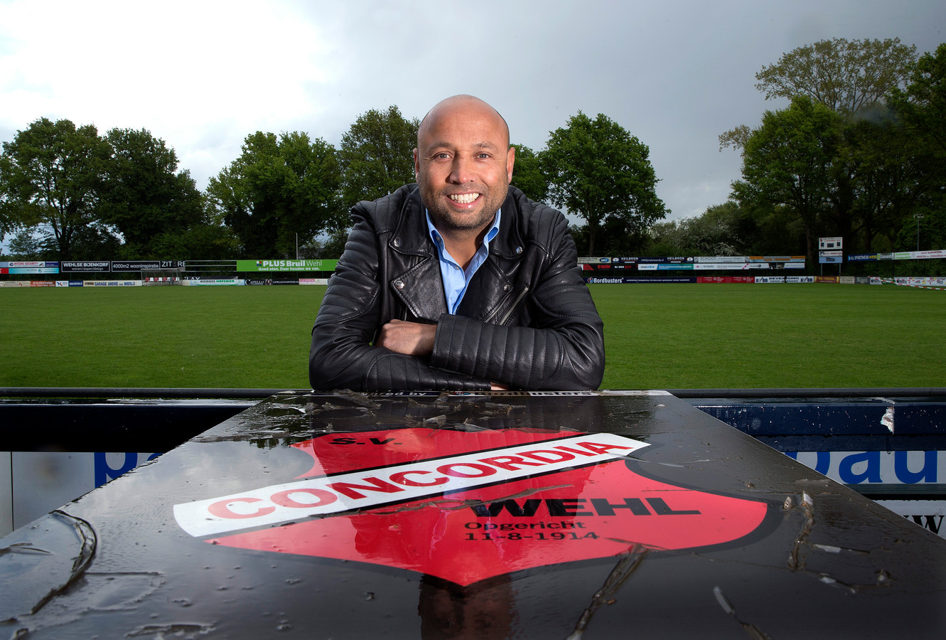 Bas van Londen, de nieuwe trainer van Concordia Wehl.