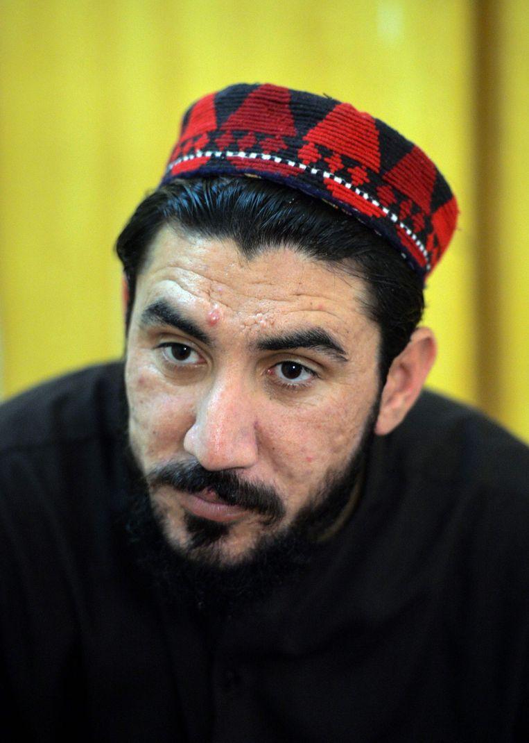 Manzoor Pashteen Beeld AFP
