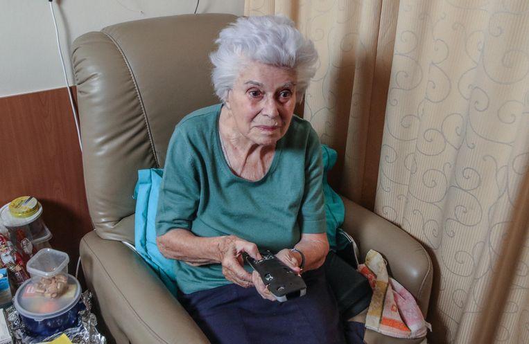 Jeanne Marti (95) probeerde het gemakbakske al uit.