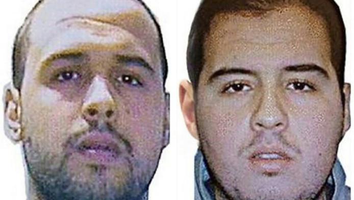 De El Bakraoui-broers. Links Khalid, rechts Ibrahim