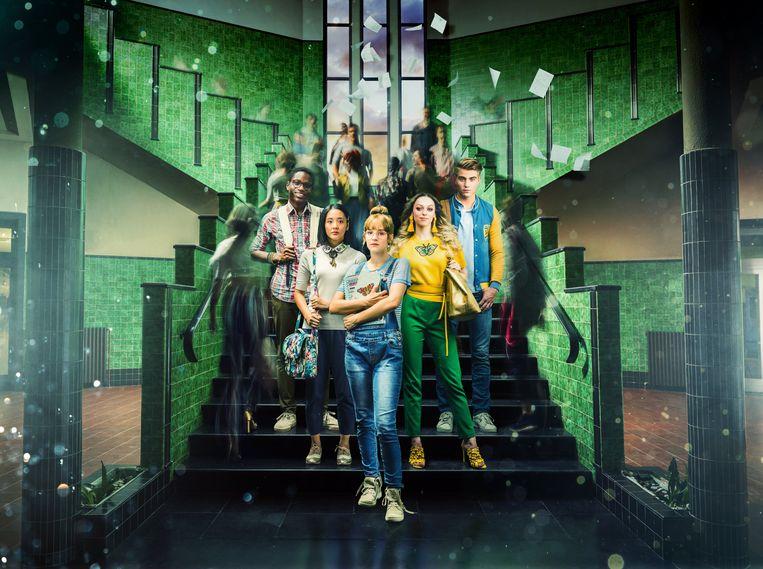 De cast van #LikeMe komt optreden in PTS Boom.