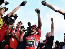 Roglic na eindzege Vuelta: 'Dit is met geen woorden te omschrijven'