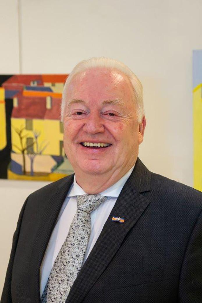 Wethouder Johan Swaans.