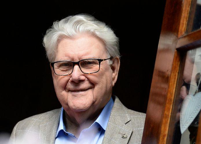 Jan Bosman, zaterdag op 92-jarige leeftijd overleden, in 2018.