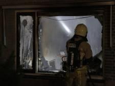 Brand verwoest woning in Enschede