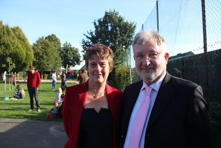 Marcia De Keyser en Marcel De Clercq vieren het vijftienjarig bestaan van hun geboortehuis Babykriebels.