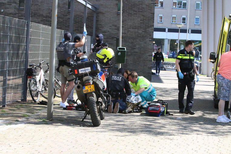 De Dienst Sepciale Interventies eerder dit jaar in Den Haag Beeld ANP