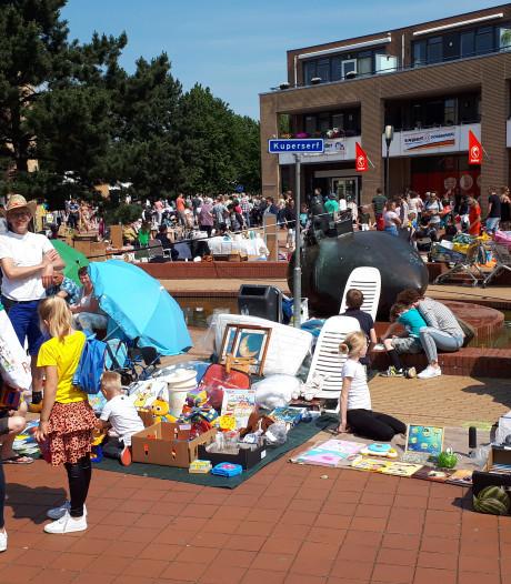 Drukke Pinkstermarkt Nijverdal ondanks geringer aanbod