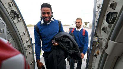 Mpoku reist mee