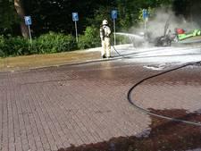 Voertuig brandt uit bij Molenwaterpark Middelburg