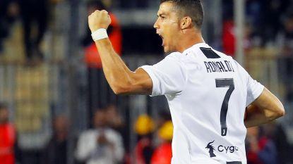 VIDEO. Cristiano Ronaldo haalt zijn gram met penaltygoal en heerlijke raket in de winkelhaak