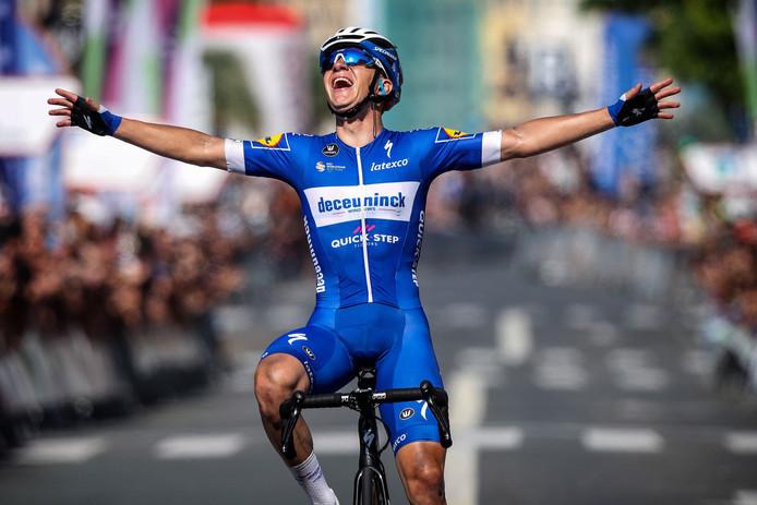 """Brillant vainqueur de la Clasica San Sebastian début août, Remco Evenepoel a prouvé qu'il pouvait briller sur les courses d'un jour: """"Il mérite sa sélection pour les Mondiaux""""."""