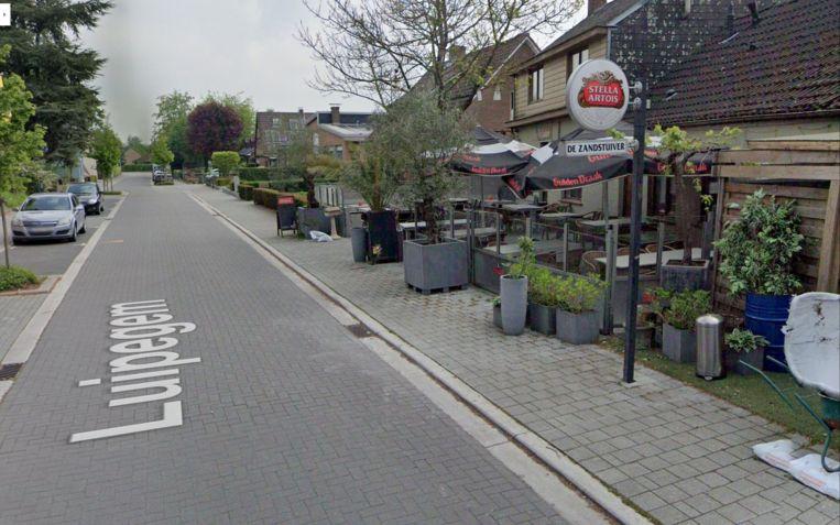 BORNEM - De Zandstuiver langs Luipegem in Bornem.