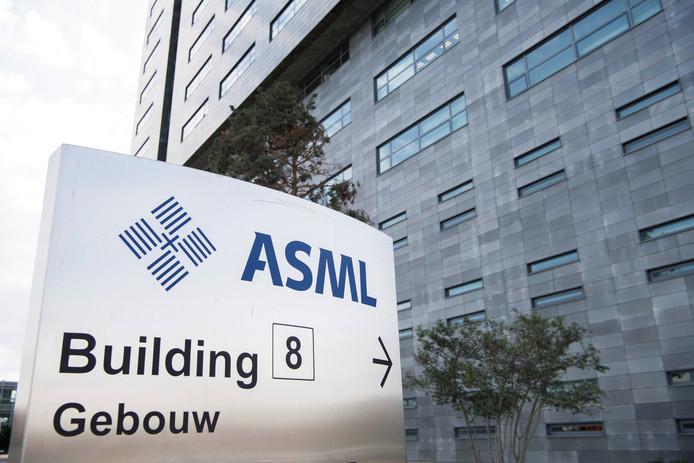 ASML hoofdkantoor in Veldhoven.