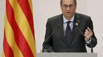 "Catalaanse minister-president: ""Catalonië blijft streven naar afscheiding van Spanje"""