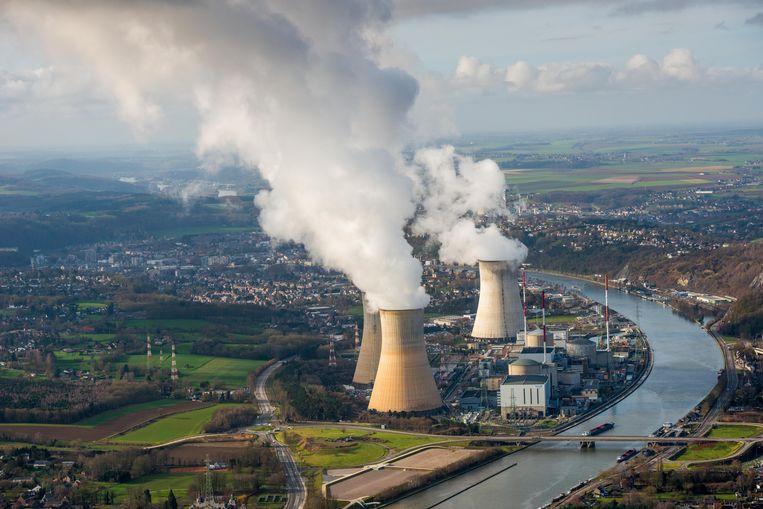 Kerncentrale Tihange in Belgie, 40 kilometer ten zuiden van Maastricht.  Beeld ANP