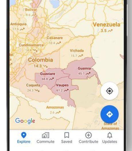 Besmette gebieden zichtbaar in Google Maps: even omrijden misschien?