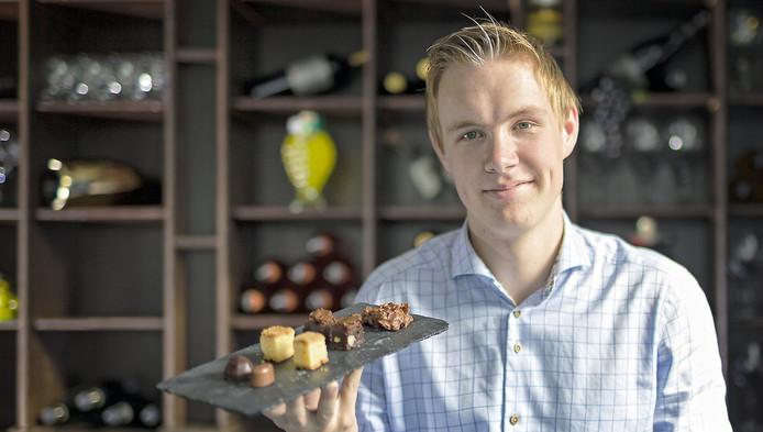 Martijn Kempen wil zijn hele restaurant glutenvrij maken, net als deze 'friandise'