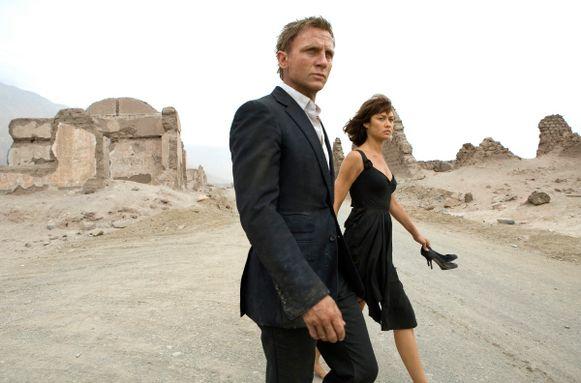 Daniel Craig kruipt in de huid van James Bond.