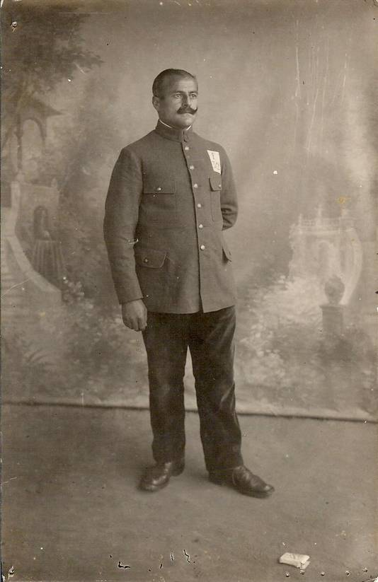 Edouard Roland in uniform