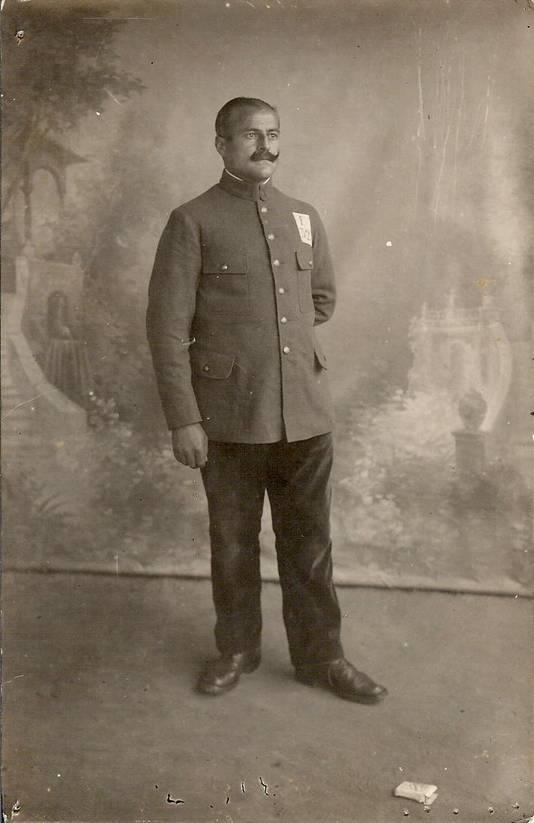 Edouard Roland in uniform