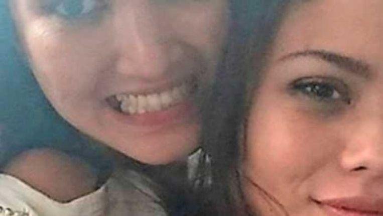 Selfie van Ivana met miljonairsvrouw Luna