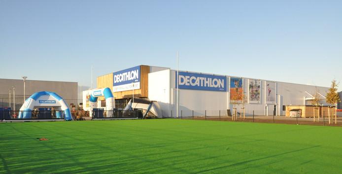 Decathlon wil graag een vestiging in het Forepark in Den Haag, met sportparken voor clinics, net zoals in Breda (foto).
