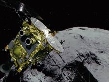 Japanse sonde landt op asteroïde Ryugu